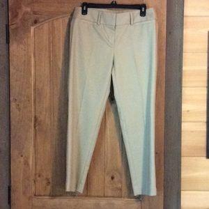 LOFT Marisa Riviera khaki dress pant. Size 4. EUC